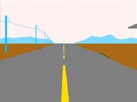 Highway w/ufo
