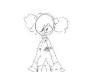 COLETTE BUT WITH BUNS