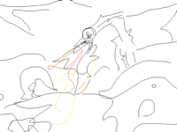 dragon animation wip