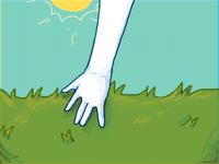touch grass