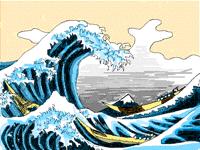 The Big Wave-Hokusai Remake