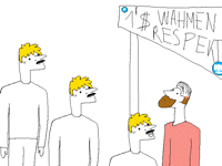 Pewds respect wahmen