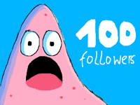 Thank you Soo much for a 100 followers