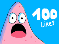 Thank you so much for 100 likes on my recent post