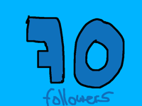 Thank you so much for 70 followers