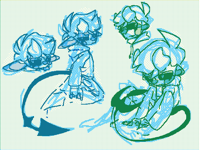 Twin doodles