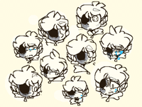 Ethan faces. Lots of em.