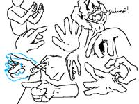 My hand drawing still not improve