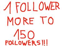 1 follower more pls