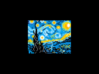 Starry night (clean)