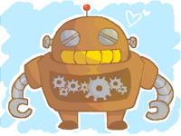 Just a robot I guess