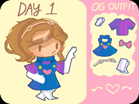 Drawing Jewelry an Outfit - Day 1
