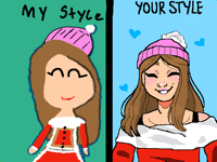 Draw this is your style