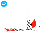 Lightsaber battle (in slow motion)