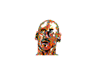 My first  pixel art (Michael Jordan)
