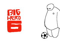 Baymax and the ball