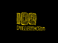 Thank you for 100follows guys