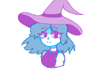 Simple animation of a witch