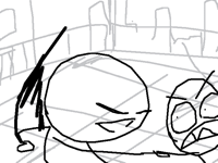 15.Fight scene