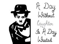 Charlie Chaplin:)