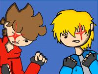 Fight scene colab