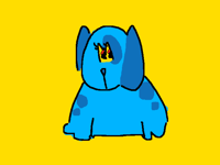 bad dogs get put in the yellow piss void