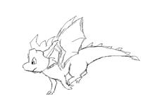 Dragon run cycle