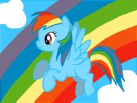 Rainbow Dash ♪(^∇^*)