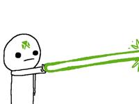 Green laser!