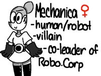 O wow I made a villain