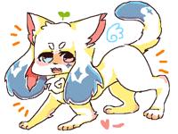 Kitty dog doodle :3