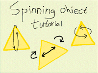 Spinning Shape Tutorial!