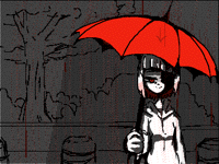 Bloody Umbrella