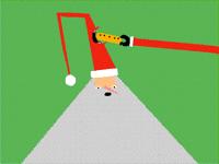 Hungry Santa Hat