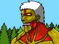 Armored titan (Shingeki No Kiojin)