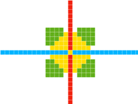 Pixel animation (short and no grid)