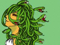 "My old art ""Medusa"""