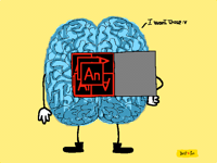 Wanna see what inside my brain looks like folks :3
