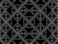 Triangle fractals (the blank one)