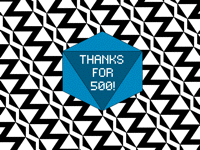 Thanks for 500!