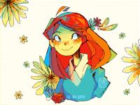 Flower Flowing