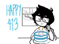 413 (Homestuck: Happy Birthday John and Jane!)