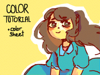 COLOR TUTORIAL (+color sheet)