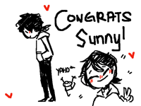 Congrats for 1000! (SunnyPainter)