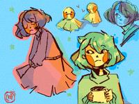 Doodles :0 (Bliss)