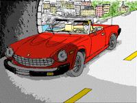 Fiat Spider road trip