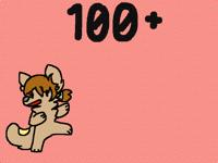 100+ Followers WOOP