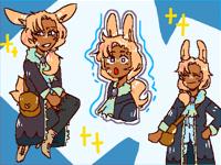 little bun girl