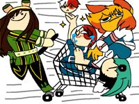 Mad cart riders