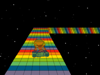 Snes rainbow road!